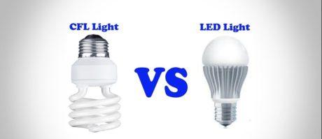 CFL Light vs LED Light
